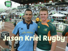 Jason Kriel Rugby Logo